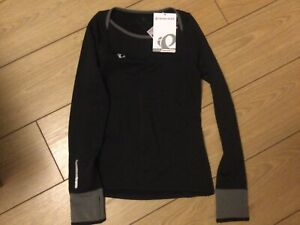 Pearl Izumi Womens Pursuit Thermal Cycling Top Size XS in Black