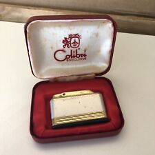 More details for colibri executive lighter, boxed, generates sparks [some marks] (a1)