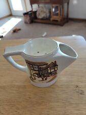 New ListingVintage Shaving Scuttle Cup Mug Sandland Hanley Staffordshire England .#1420