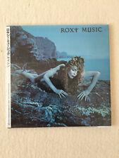 ROXY MUSIC - SIREN - JAPAN MINI LP CD - TOCP 65826