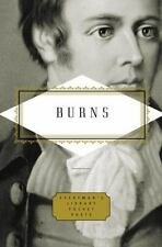 Everyman's Library Pocket Poets: Burns by Robert Burns (2007, Hardcover)