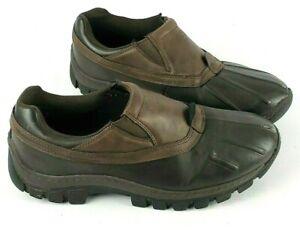 RedHead Dark Brown Cushioned Cruiser Casual Travel Slip-On Shoes Men's Sz US 10