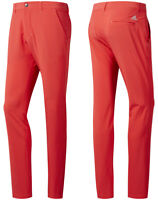 "Adidas Golf Ultimate 365 Tapered Golf Trousers - Shock Red - W30 W32 - 32"" Leg"