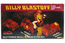 Vintage Eldon Billy Blastoff Fireman Fire Fighter Set Mint Unused NOS Box Works