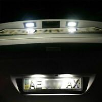 T10 501 WHITE LED CAR SIDE LIGHT BULBS 12V NUMBER PLATE W5W HID WEDGE XENON 2x