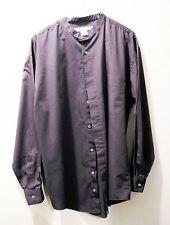Monte Carlo Men's Button Down Long Sleeve Shirt - Adult Size M - Cotton Blend