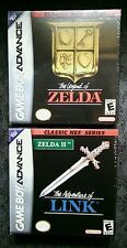 The Legend of Zelda GBA 2 Game Lot NEW
