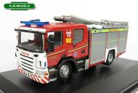 BNIB OO GAUGE OXFORD 1:76 76SFE001 CLEVELAND FIRE & RESCUE FIRE ENGINE