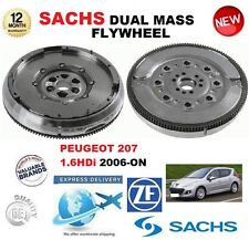 FOR PEUGEOT 207 1.6 HDi 90hp 109hp 2006-ON SACHS DMF DUAL MASS FLYWHEEL & BOLTS