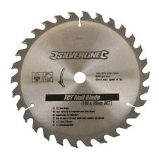 Silverline 633507 TCT Nail Blade 30T 190 x 16