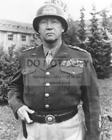 GENERAL GEORGE S. PATTON IN 1945 U.S. ARMY - 8X10 PHOTO (BB-192)