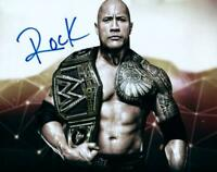 The Rock Dwayne Johnson ( WWF WWE ) Autographed Signed 8x10 Photo REPRINT ,
