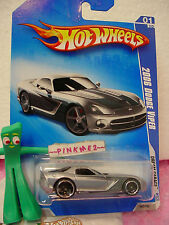 2009 Hot Wheels '06 DODGE VIPER 2006 #147/190∞Silver;Gray;oh5~Dream Garage  🚙