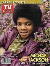 Tv Guide Magazine Michael Jackson Farrah Fawcett Special Collectors Issue 2009