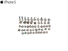 Set Tornillos para iPhone 5 Plata Recambio Kit Completo Exclusivo (42 unid)