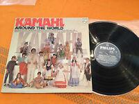 "KAMAHL  ""AROUND THE WORLD""  1978 Aus Vinyl Lp  Philips 6460 933  EX/NM"