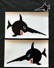 Uboot/U-Boot/U96 Sägefisch, Schwertfisch Aufkleber Groß-Top Qualität