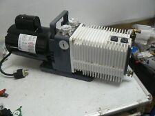 Varian Alcatel Adixen 221 Sdx Vacuum Pump With Franklin Electric 1101006413 Motor