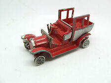 1910 BENZ LIMOUSINE Y 3 IN RED  MATCHBOX MODEL OF YESTERYEAR
