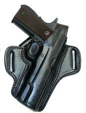 "Taurus 1911 OWB Holster 5"" Barrel Black Leather Thumb Break Right"