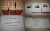 CONTES DE LA FONTAINE ILLUSTRÉS PAR HENRY LEMARIÉ - 6 VOLUMES AVEC 4 SUITES ++++