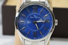 Lucien Piccard Mens Orion Watch Stainless Steel Blue Dial - LP-12841-33