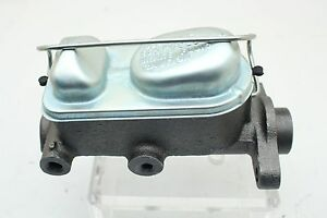 """1966-73 Ford Mustang Single Bail Master Cylinder 1"""" Bore w/ Shelby Boss 429 Lid"""