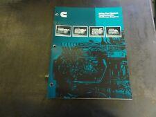 Cummins Inline Fuel System Familiarization MidRange Engines Manual   3387780
