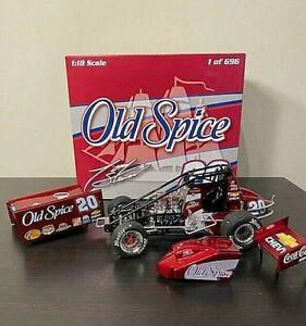 R&R 1:18 Tony Stewart 2008 #20 Old Spice Sprint Car Diecast 1 of 696 Made NIB
