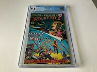 PACIFIC PRESENTS 1 CGC 9.8 WHITE PGS ROCKETEER DAVE STEVENS PACIFIC COMICS 1982