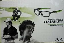 OAKLEY sun golf 2012 RORY McILROY crosslink BIG duratrans poster ~NEW~!!