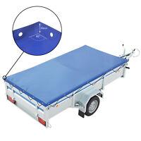 ProPlus Anhänger Flachplane Blau mit Gummigurt 2575x1345x50mm für Trailer