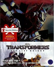 Transformers: The Last Knight Limited Edition Debossed SteelBook w/Slip (Korea)