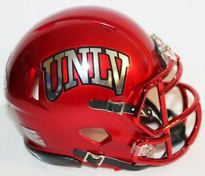 2020 UNLV Runnin Rebels Custom Riddell Mini Helmet vs San Jose State