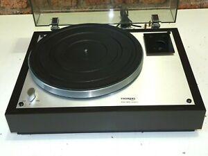 Thorens TD 160 Super 2 Speed Vintage Record Deck Player Turntable (No Tonearm)