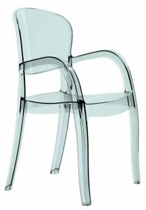 Joker Ghost Indoor Outdoor Patio Dining Arm Chairs Stackable Durable (2 Chairs)