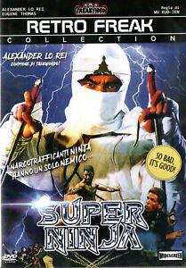 Super Ninja DVD Freak Video 1984 Kuo-Ren Wu Taiwan Action