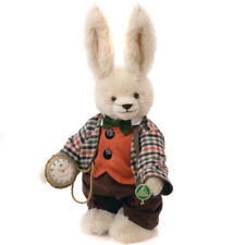 The White Rabbit limited edition teddy bear by Hermann Spielwaren - 20581-2