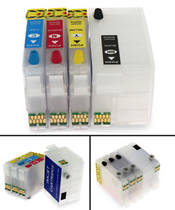 For Epson 252xl 252 T2521 T252 T2521XL refill Ink cartridge for epson WF-3620