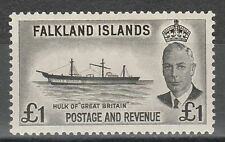 Falkland Islands Ships and Boats Stamps