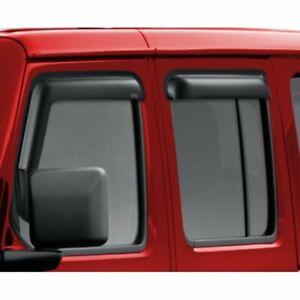2018-2021 Jeep Gladiator & JL Wrangler Mopar OEM Rain Guards 82215368AB