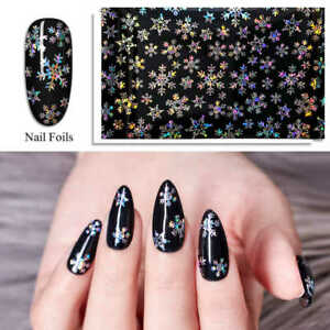 Holographic Christmas Foil Transfers   Nail Art Stickers   Foils   Decals