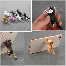 Cute Cat Support Resin Mobile Phone Holder Stand Sucker Smartphone Holder UK