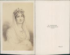 Tournier, Paris, Impératrice Joséphine, épouse de Napoléon Ier, circa 1860 CDV v