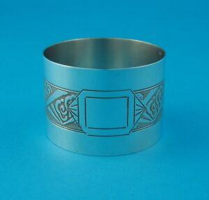 %%% Serviettenring, 950er Silber - ohne Monogramm