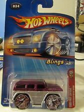 Hot Wheels Mercedes-Benz G500 2005 First Editions #034 Red / Silver
