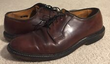 Allen Edmonds Leeds Plain Toe Oxford Dress Shoes Brown Men's Size 7.5 D