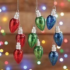 Vintage Light Bulb Cluster Christmas Ornament Set 3 rzchtl 3624597 RAZ NEW