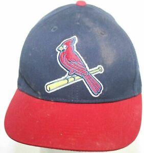 St. Louis Cardinals Youth Team MLB Baseball Hat - Blue & Red Strapback Cap