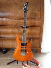 E-gitarre gebraucht Crafter Cruiser Rechtshänder Gitarre als Linkshänder geplayt